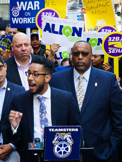 Antonio-Reynoso-rallies-with-Teamsters-for-waste-reform